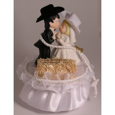Couple with Hay Bale