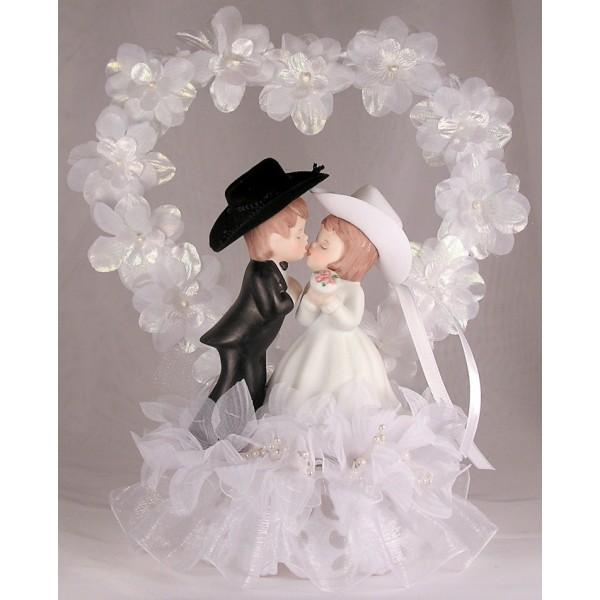 Couple in Flower Heart