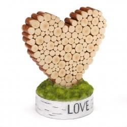 Rustic Heart Table Décor