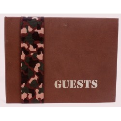 Camouflage Guest Book