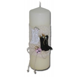 Country Elegance Unity Candle