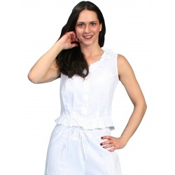 Cotton Camisole in White