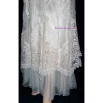 "Martin McCrea ""Diana"" Western Wedding Gown in White"