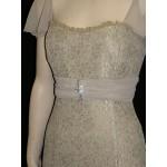 Vonda D Chiffon Sleeve Dress in Tea
