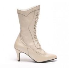 Altar Bridal Boots, Ivory