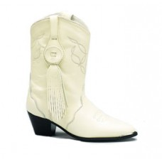 Sahara Bridal Boots, Ivory