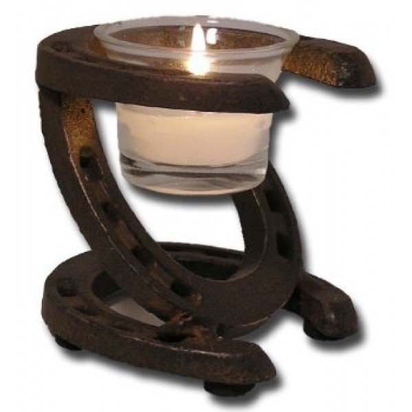 Horseshoes Tealight Candle Holder