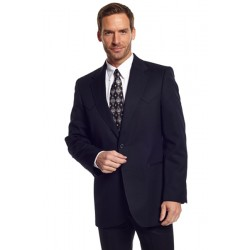 Circle S 'Abilene' Western Sport Coat in Black