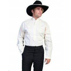 Wah Maker 'Tombstone' Men's Dress Shirt in Ivory