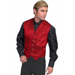 "Wah Maker ""Twin City"" Vest in Red"