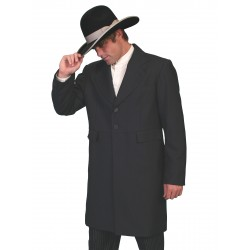 Wah Maker Highland Frock Coat in Black