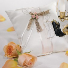 Country Elegance Ring Pillow