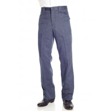 Circle S Dress Ranch Pant in Heather Navy